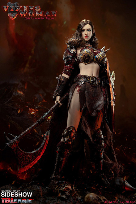 VIKING WOMAN Sixth Scale Figure by TBLeague Seamless Phicen Action Figure