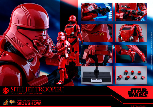 SITH JET TROOPER Sixth Scale Figure by HOT TOYS MMS562