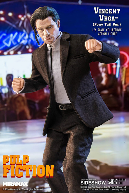 John Travolta as VINCENT VEGA in PULP FICTION 1:6 Scale Figure DELUXE SET by Star Ace _NRFB