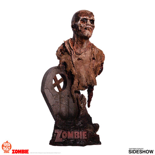 Fulci Zombie Poster Zombie Bust by Trick or Treat Studios