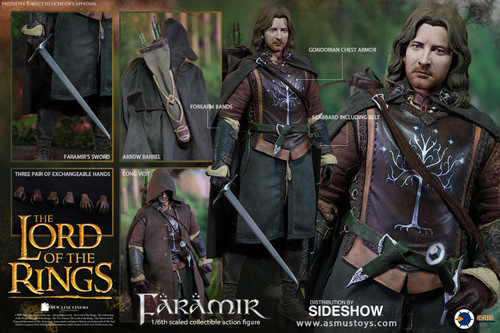 FARAMIR Lord of the Rings LOTR Sixth Scale (1:6) Figure by Asmus