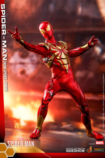 Marvel SPIDER-MAN (IRON SPIDER ARMOR) Sixth Scale (1:6) Figure by Hot Toys VGM38
