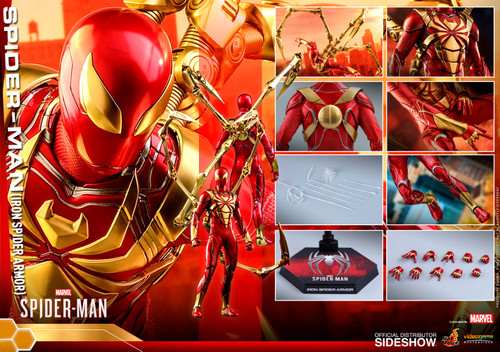 SPIDER-MAN (IRON SPIDER ARMOR) Sixth Scale (1:6) Figure by Hot Toys VGM38