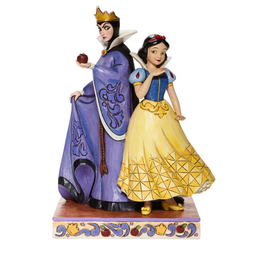 "Evil Queen & Snow White ""EVIL AND INNOCENCE"" Disney Traditions Figure"