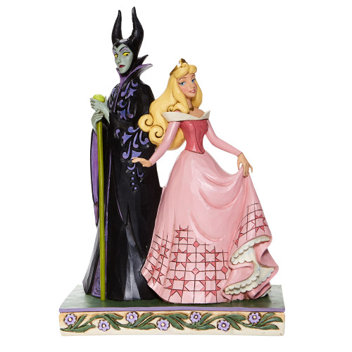 "Maleficent & Aurora ""SORCERY AND SERENITY"" Jim Shore Disney Traditions Figure"