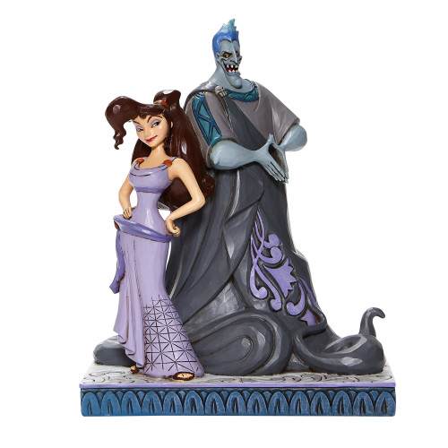 "Hercules Meg & Hades ""MOXIE AND MENACE"" Jim Shore Disney Traditions"