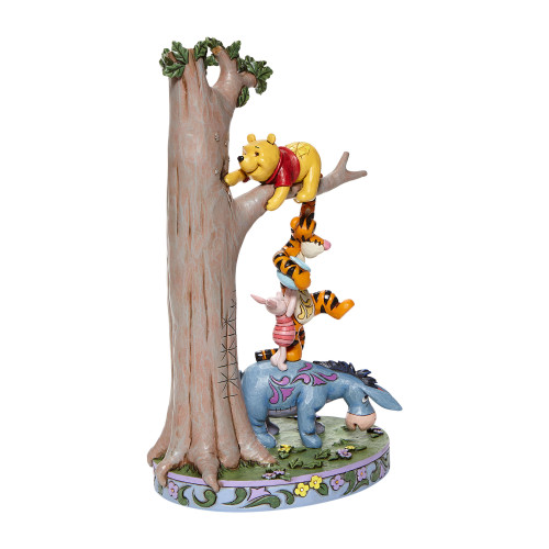 "Winnie the Pooh ""HUNDRES ACRE CAPER"" Jim Shore Disney Traditions"