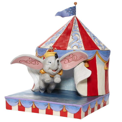 "Dumbo & Timothy ""OVER THE BIG TOP"" Jim Shore Disney Traditions"