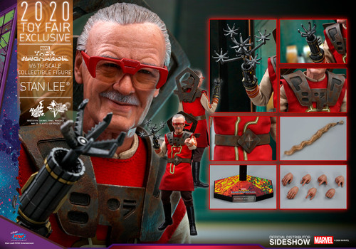 STAN LEE (Barber) THOR: RAGNAROK Sixth Scale Figure by Hot Toys