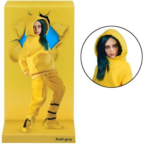 Billie Eilish Bad Guy 10 1/2-Inch Articulated Fashion Doll
