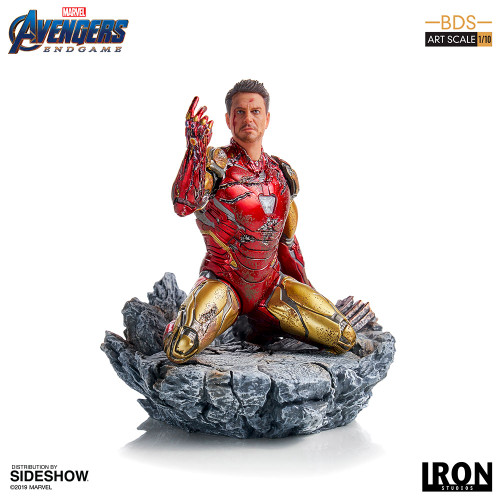 I AM IRON MAN Avengers: Endgame 1:10 Art Scale Statue by Iron Studios