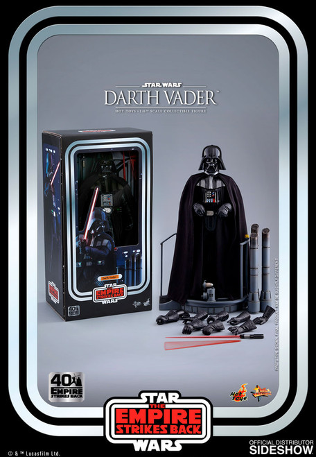 DARTH VADER STAR WARS: EMPIRE STRIKES BACK 40th Anniversary Sixth Scale Figure by Hot Toys MMS572