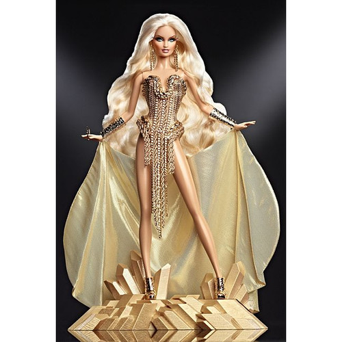 The Blonds, THE BLOND GOLD Barbie Doll