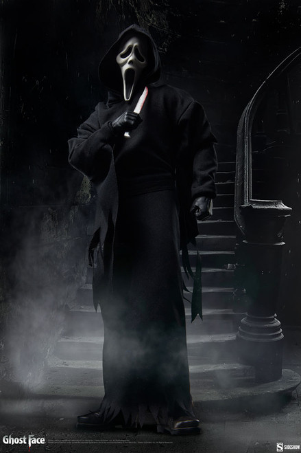 GHOST FACE (Scream's Ghostface) Sixth Scale 1:6 Figure by Sideshow Collectibles