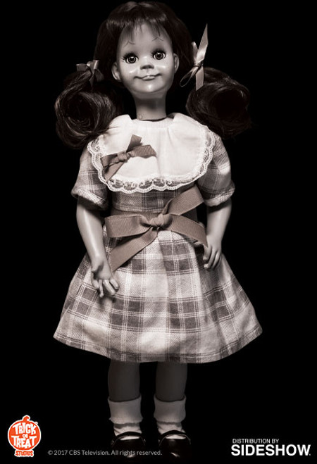 TALKY TINA Twilight Zone Doll 1:1 Scale Prop Replica by Trick or Treat Studios