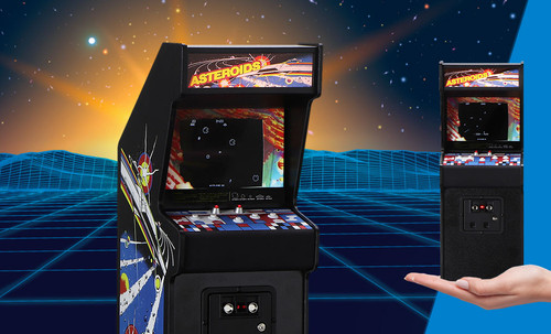 ASTEROIDS RepliCade by New Wave Toys LLC 1:6 Scale Replica Limited Edition Miniature Arcade Game