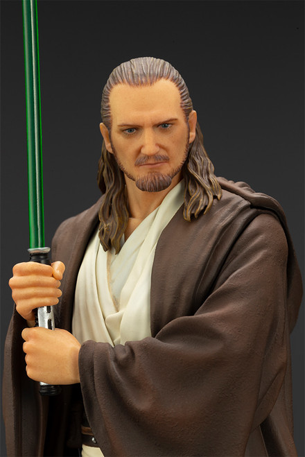 Qui-Gon Jinn 1:10 Scale Statue ARTFX Kotobukiya Star Wars: The Phantom Menace
