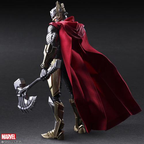 "THOR Marvel Universe Variant BRING ARTS 7"" Action Figure Tetsuya Nomura Design"