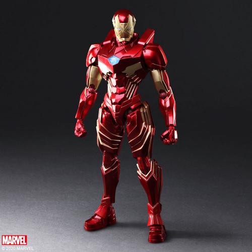 "IRON-MAN Marvel Universe Variant BRING ARTS 7"" Action Figure Tetsuya Nomura Design"