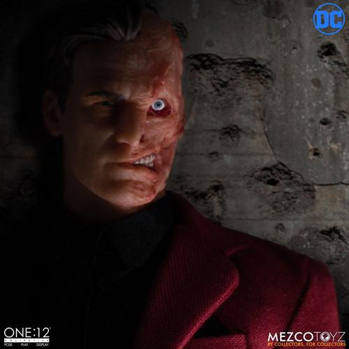 Batman's TWO-FACE (Harvey Dent) ONE:12 Action Figure by Mezco