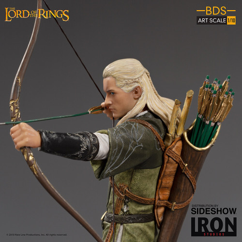 LEGOLAS Lord of the Rings 1:10 Art Scale Statue by Iron Studios BDS