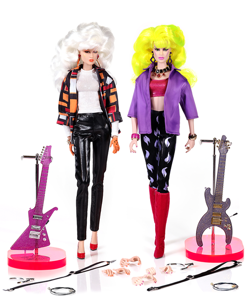 I AM A GIANT! Misfits PIZZAZZ and ROXY Jem and the Holograms 35th Anniversary by Integrity/Fashion Royalty