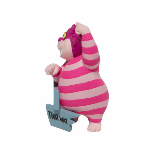 "Wonderland's Cheshire Cat  ""THIS WAY"" Disney Showcase Mini Figure"