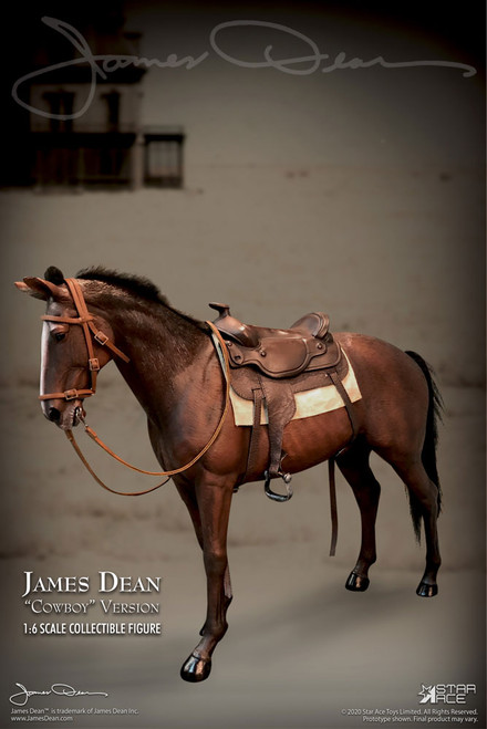 Sixth Scale JAMES DEAN (Cowboy Deluxe Version) 1:6 Figure & Horse by Star Ace Toys