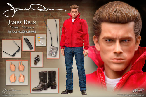 AMES DEAN (REBEL Version) 1:6 Scale Action Figure by Star Ace Toys