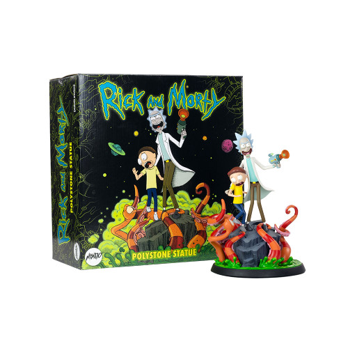 Rick and Morty Polystone Statue by Mondo Limited Edition 1000