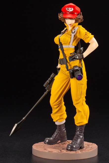 Lady Jaye (Canary Ann Variant) Statue by Kotobukiya 1:7 Bishoujo Series - G.I. Joe
