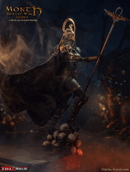 Month Deity of War (Golden) Sixth Scale Figure by TBLeague Seamless Phicen Action Figure