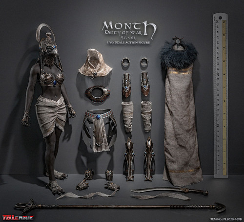 Month Deity of War (Silver) Sixth Scale Figure by TBLeague Seamless Phicen Action Figure