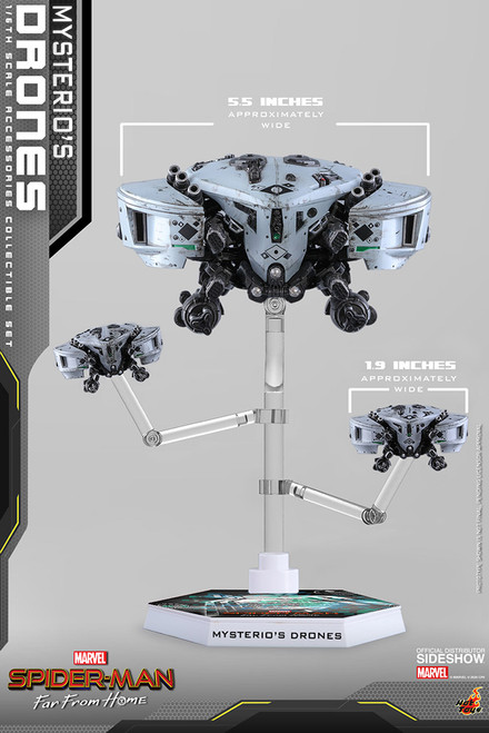"""Spider-Man: Far From Home """"Mysterio's Drones"""" 1:6 Scale Accessories Set by Hot Toys"""