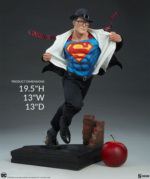 SUPERMAN: CALL TO ACTION Premium Format Figure Statue by Sideshow Collectibles