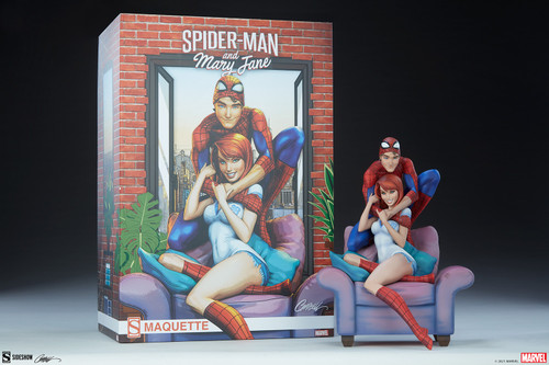 Spider-Man and Mary Jane CE Maquette by Sideshow Collectibles LTD 2500