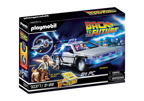 Back to the Future DeLorean #70317 by Playmobil