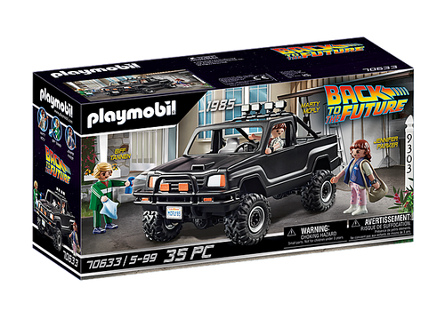 Back to the Future Marty's Pick-Up Truck #70633 by Playmobil