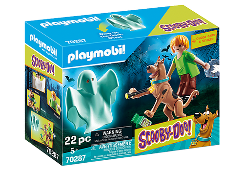 SCOOBY-DOO! Scooby and Shaggy with Ghost #70287 by Playmobil