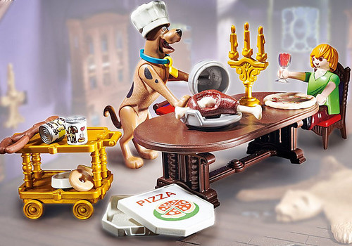 SCOOBY-DOO! Dinner with Shaggy #70363 by Playmobil