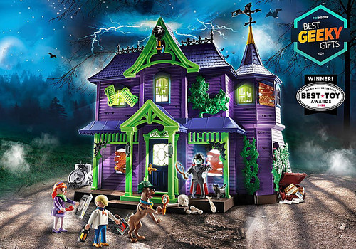 SCOOBY-DOO! Adventure in the Mystery Mansion #70361 by Playmobil