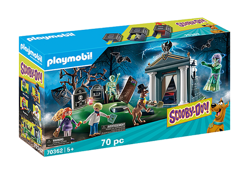 SCOOBY-DOO! Adventure in the Cemetary #70362 by Playmobil