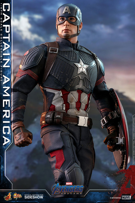 CAPTAIN AMERICA Sixth Scale 1:6 Figure by Hot Toys Avengers: Endgame - MMS536