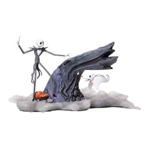 JACK SKELLINGTON with Levitation ZERO 'Light-Up' Figure by Grand Jester Studios
