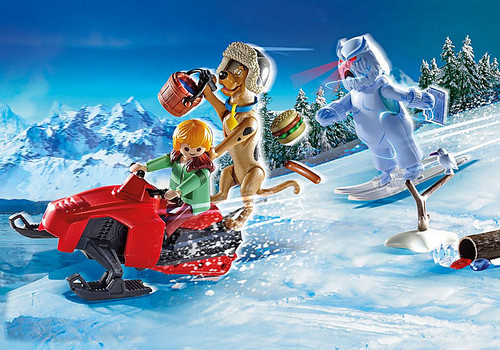 Playmobil SCOOBY-DOO! Adventure with Snow Ghost No. 70706