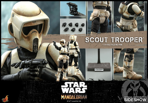The Mandalorian: SCOUT TROOPER Sixth Scale Figure by Hot Toys - TMS016