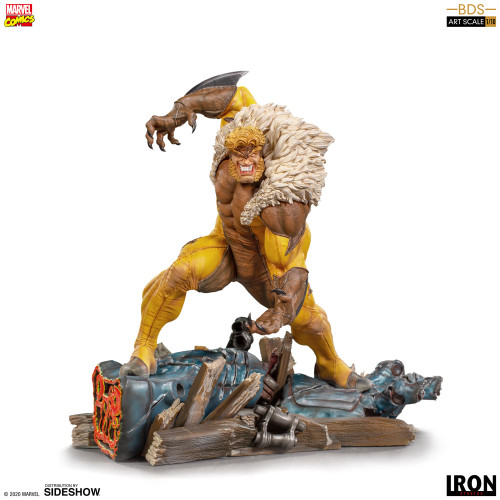 Marvel Comics SABRETOOTH 1:10 Scale Statue by Iron Studios BDS Art Scale