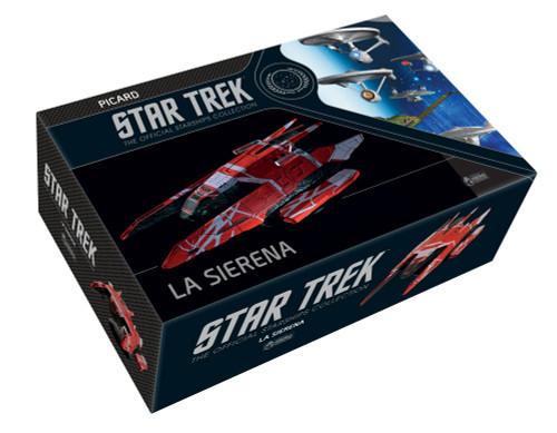La Sirena (XL Edition) Kaplan F17 Speed Freighter Model StarShip by Eaglemoss