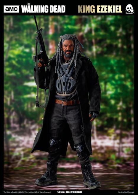 AMC The Walking Dead: KING EZEKIEL Sixth Scale Figure by Threezero