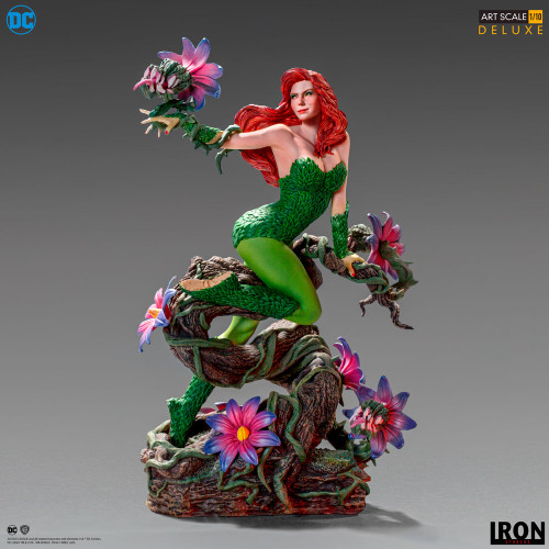 POISON IVY DC & Ivan Reis 1:10 Art Scale Statue by Iron Studios (Limited Ed)